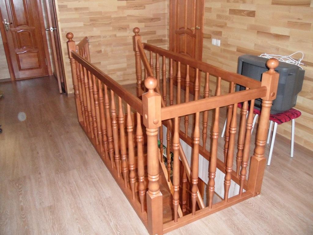 Ограждения для лестниц своими рукам и 232